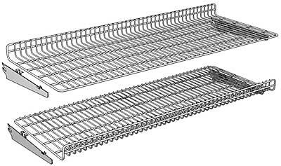 Reversible Wire Shelf